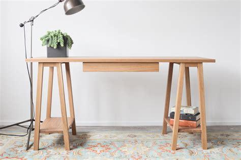 Sawhorse Legs For Desk by Furniture Trestle Desk Legs And Sawhorse Desk