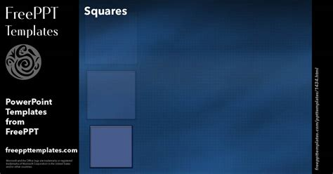 Squares 21 Powerpoint Templates Squares Powerpoint Template