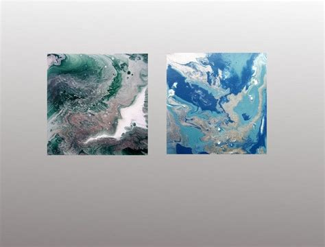 Marmor Malen by Quot Marmor Konvolut Quot Abstrakte Acrylbilder 20 X 20