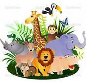 Cartoon Baby Animals  Vector Animal Stock &169 Surya