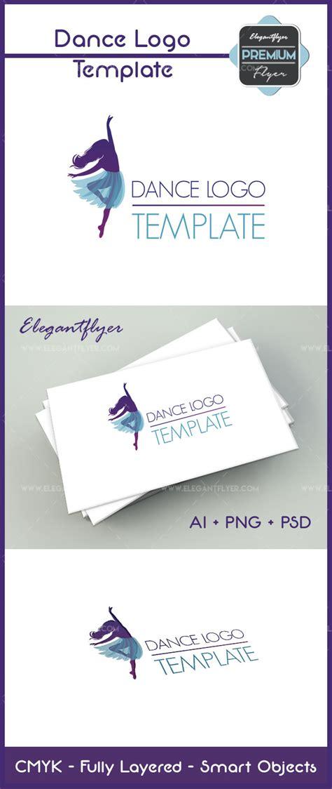 Dance Logo Premium Logo Template By Elegantflyer Premium Logo Templates