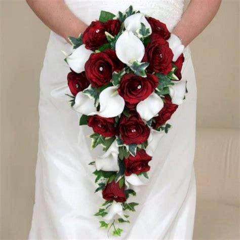 calla wedding bouquet burgundy calla wedding bouquet ideas 22 oosile
