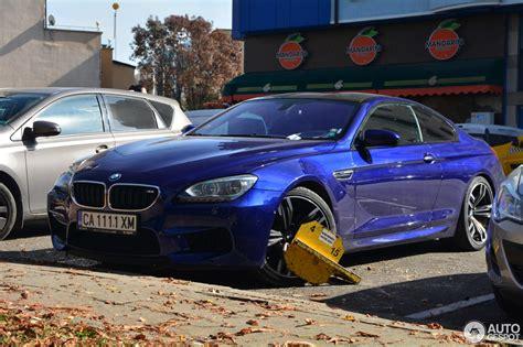 bmw m6 gets punished for owner s improper parking carscoops