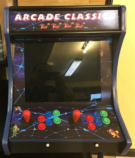 bar top video game bar top counter top arcade multi game new with free