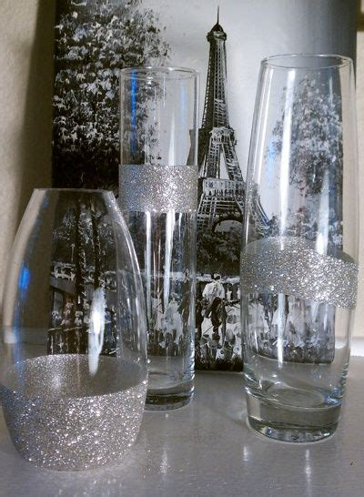 glitter silver glitter and tables on pinterest