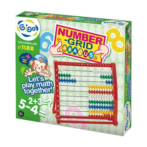 Multilink Number Track teaching aid gigotoys