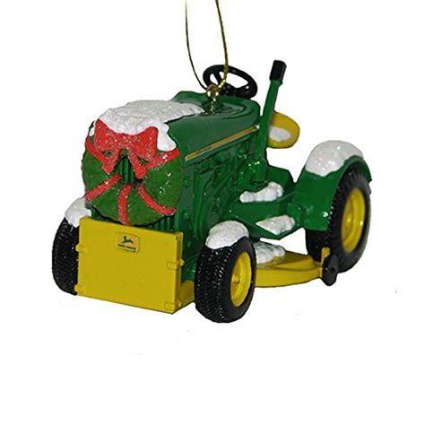 kurt adler john deere 1963 model 110 tractor with wreath