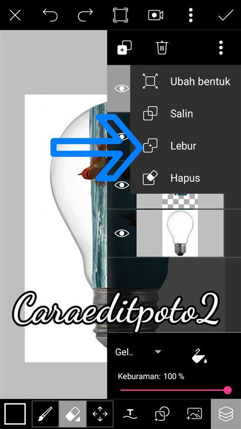cara edit foto fisheye di android cara edit foto manipulasi lu di picsart android