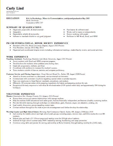 Resume Sample Graduate Application by Graduate Admission Resume