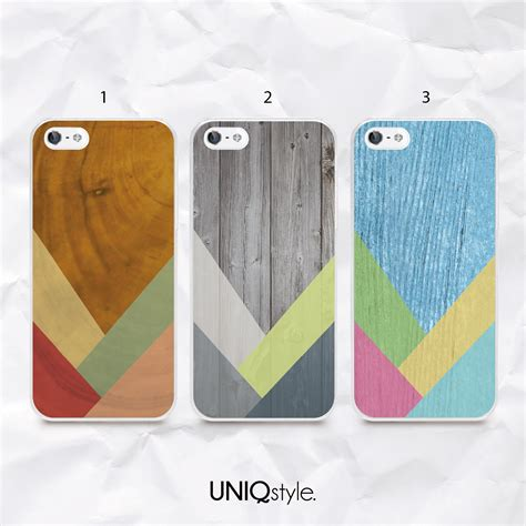 Casing Htc One M9 Geometrical Wallpaper Custom Hardcase geometric colorful wood print phone for iphone 7 6 6s samsung s6 s7 s8 note5 sony lg