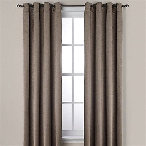 ashton grommet window curtain panel 86 best images about designer drapery on pinterest