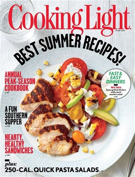 cooking light magazine reviews cooking light magazine june 2013 eat your books