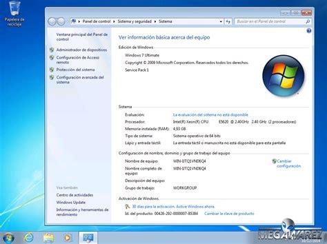 download windows 7 ultimate sp1 original windows 7 ultimate sp1 64 bits original imagen iso