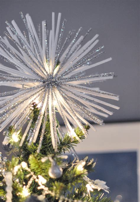 spectacular starburst tree topper diy w pipe cleaners