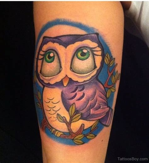 cartoon owl tattoo tattoos designs pictures page 3