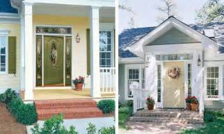 front door colors for yellow house exterior wood door decorating with paint colors to personalize home design and feng shui homes