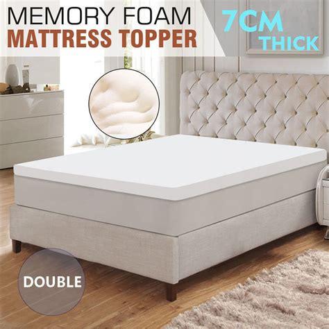 Royal Comfort Memory Foam Mattress by Size Memory Foam Mattress Topper Royal Comfort Memory