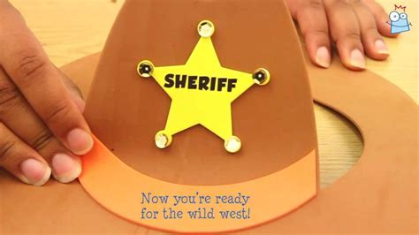 How To Make A Paper Cowboy Hat - how to make a cowboy hat
