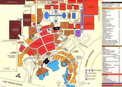 Red Rock Casino Floor Plan Las Vegas Plan De La Ciudad Mapas Imprimidos De Las
