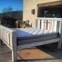 Bed Frames Out Of Pallets 42 Diy Recycled Pallet Bed Frame Designs