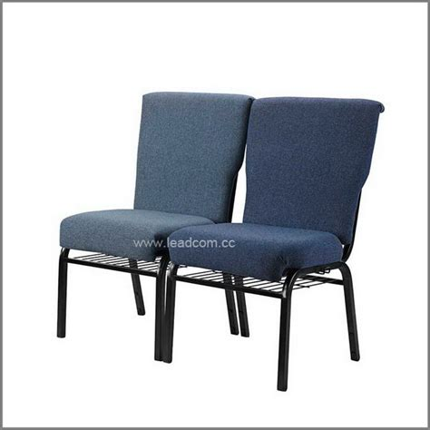 Stackable Chairs For Sale by Leadcom Fabric Padded Interlock Stacking Church Chairs For