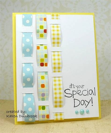 Handmade Cards Using Ribbon - handmade birthday cards pink lover