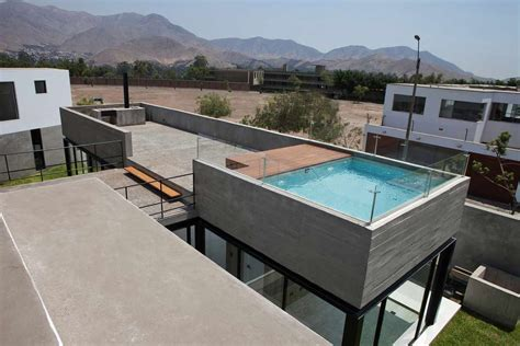 rooftop deck design house with rooftop pool