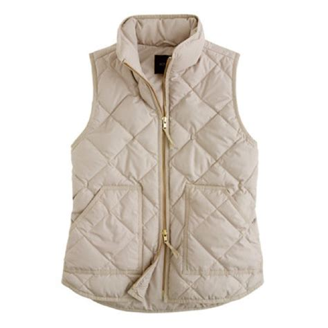 Quilted Vest Womens by J Crew All Sold J Crew Quilted Puffer Vest From