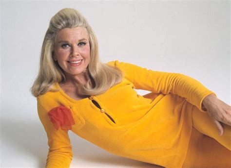 doris day show long hair i could never get away with wearing a yellow pant suit