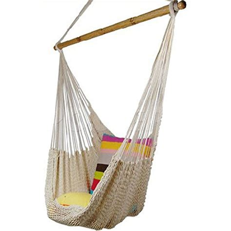 How To Weave A Hammock Chair 260lbs weigh load zupapa 174 100 cotton dense woven hanging