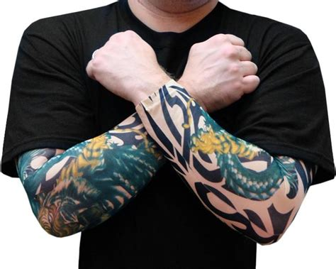 fake tattoo sleeve sleeves tiger vs temporary sleeves