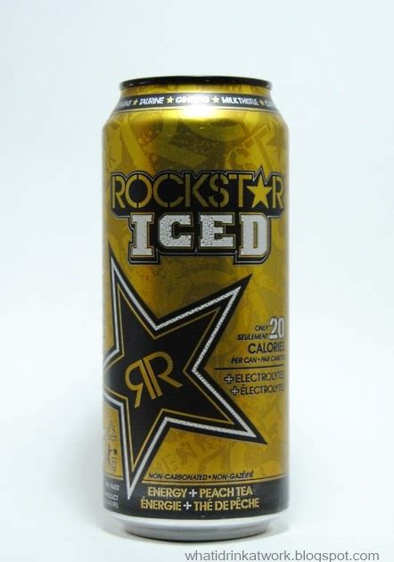 q base energy drink what i drink at work rockstar iced energy drink review