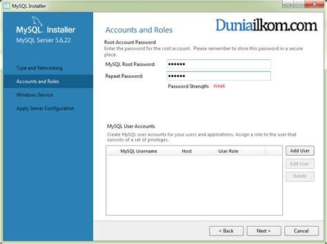 tutorial membuat trigger di mysql tutorial cara menginstall mysql 5 6 membuat password