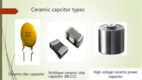 industrial capacitor types types of capacitors