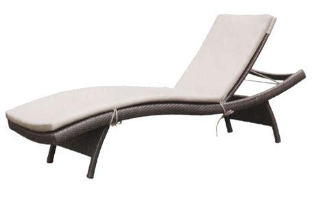 Rattan Lounger/Sun Bed/Beach Chaise/Ajustable Leisure