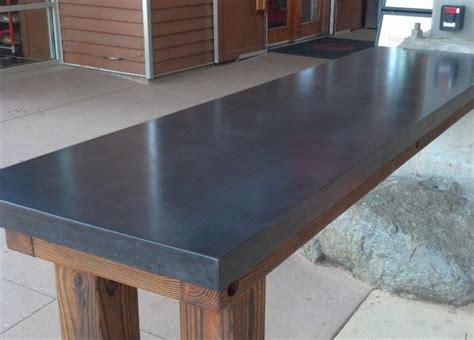 concrete table top best 25 concrete table top ideas on concrete