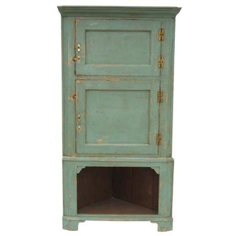 Painted Corner Cabinet by Painted Corner Cabinet At 1stdibs