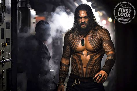 first look at jason momoa in aquaman
