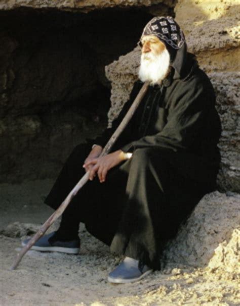 coptic monk monasticism bishoys coptic blog