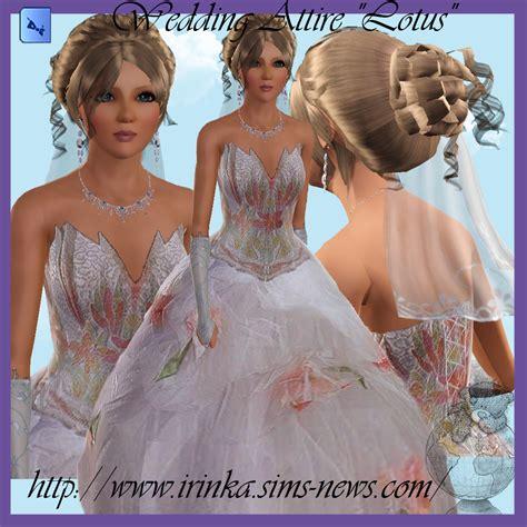Wedding Attire In November by My Sims 3 Wedding Attire By Irink A