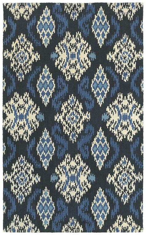 Shaw Floors Area Rugs Area Rug In Style Quot Ikat Medallion Quot Color Indigo By Shaw Floors For The Home Pinterest