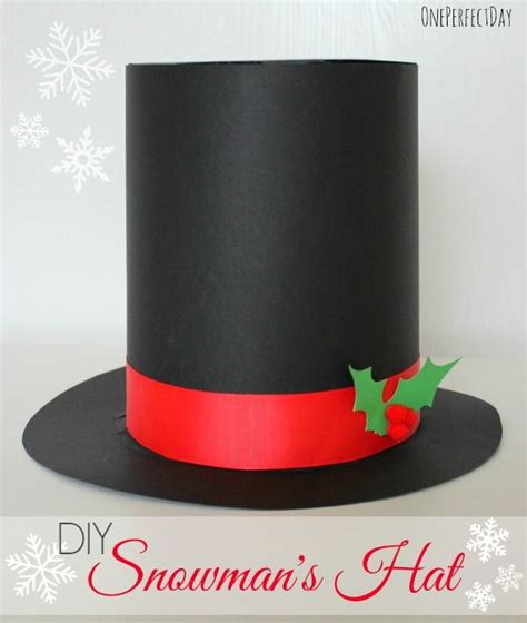 How To Make A Snowman Hat Out Of Construction Paper - best 25 snowman costume ideas on