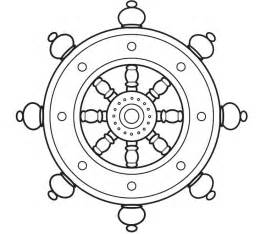 Buddhist Wheel Of Template by Buddhist Inspired Coloring Sheets Buddhism