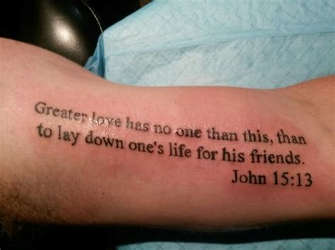 no love tattoos greater has no one in the skin
