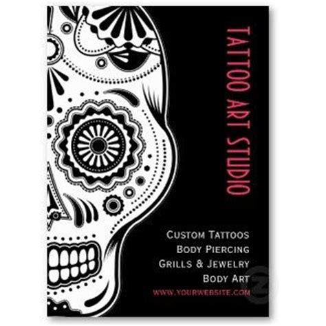 tattoo visiting card design business cards on http tattoos picture