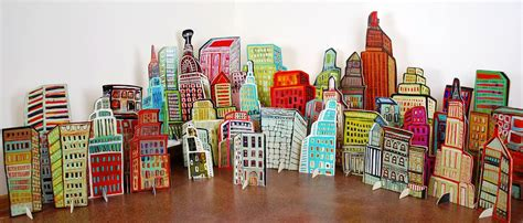 Home Decor Online barbara gilhooly pop up cut outs pop up city