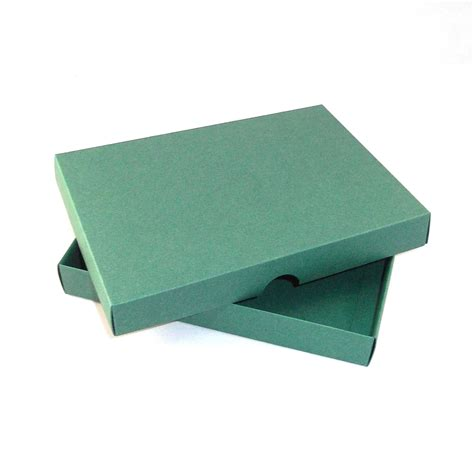 Handmade Card Box - a4 green greeting card boxes for handmade cards