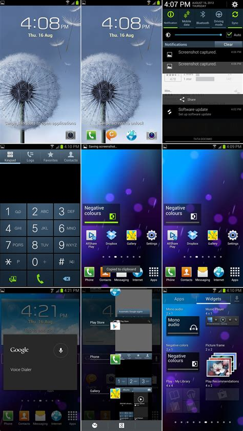 screenshot android galaxy xxdlg4 the android 4 1 jelly bean firmware for galaxy s3 i9300
