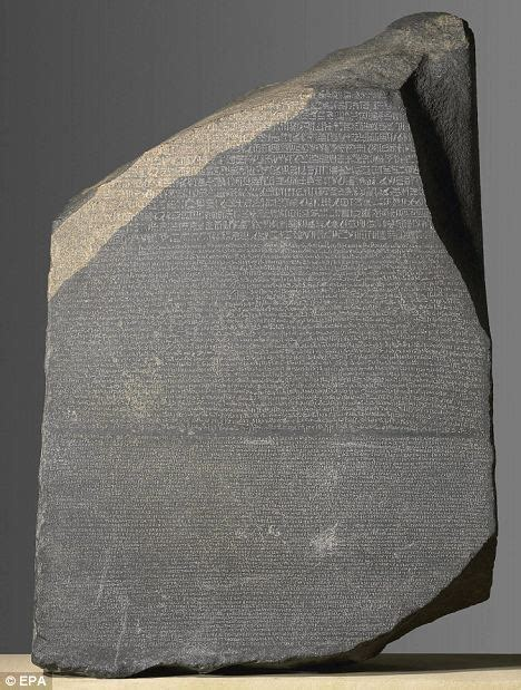 rosetta stone tablet indiana jones of egyptian archaeology demands british