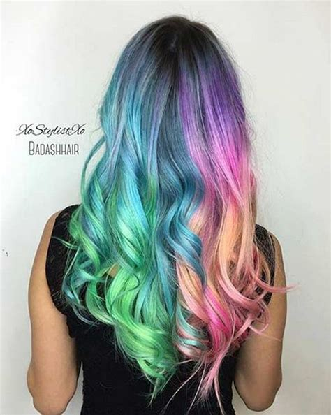 colorful short hair styles colorful hair looks to inspire your next dye job